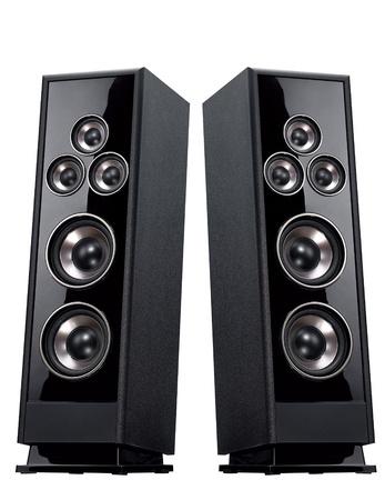 equipo de sonido: El sistema acústico aislado verticalmente
