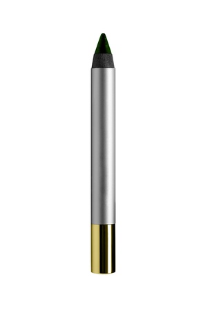 goldy: Cosmetic pen isolated on white Stock Photo
