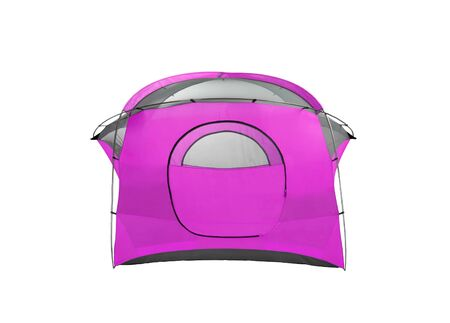 purpule: Purpule tent on white background