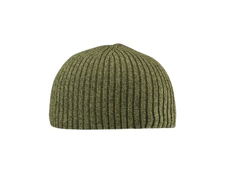 Dark green hat isolated on white Stock Photo - 14729083