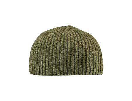 Dark green hat isolated on white Stock Photo - 14729083