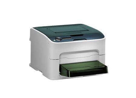 scaner: All in one printer scaner isolated on white Stock Photo