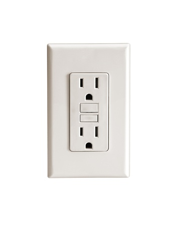 Socket. On a white background. photo