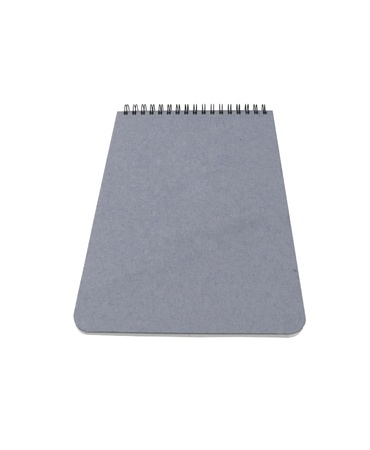 Notepad. On a white background. photo