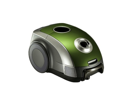 Vacuum cleaner isolated on the white background Stock Photo - 14727504