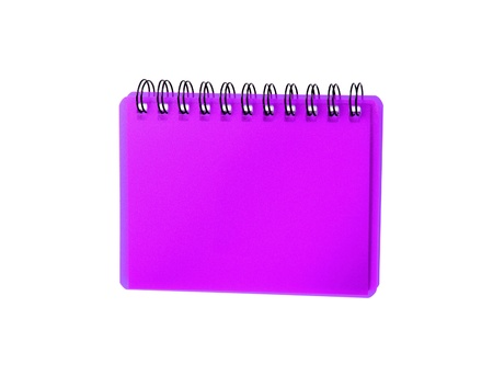 purpule: Purpule color Cover Note Book Stock Photo