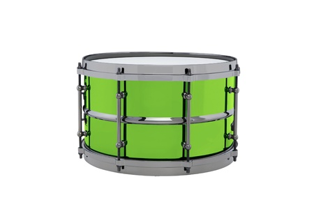 drum isolated on white background photo