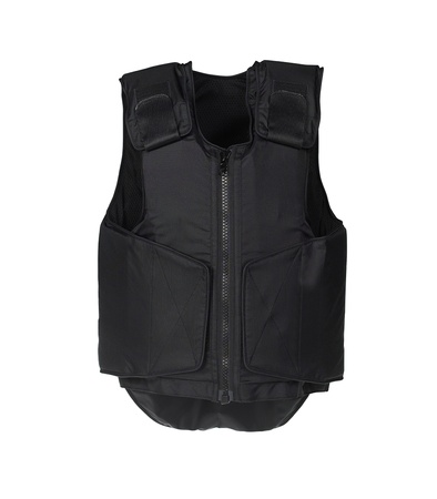 Bulletproof vest. Isolated on white. Stock Photo - 15298450