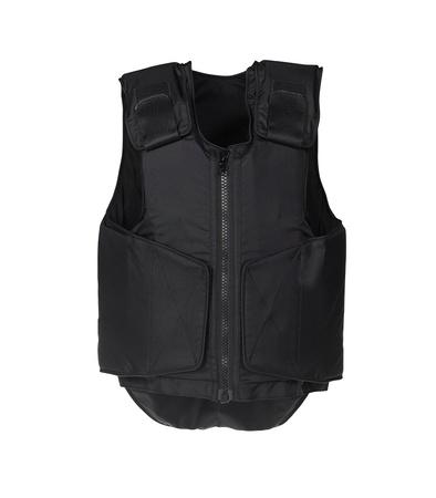 bulletproof: Chaleco a prueba de balas. Aislado en blanco.