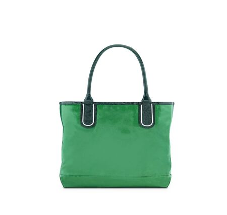 reusable: Verde, shopping bag riutilizzabile Archivio Fotografico