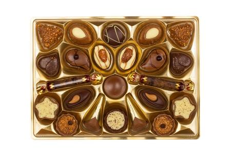bonbon chocolat: Bo�te de bonbons au chocolat