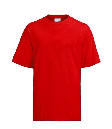 red tshirt: Red T-shirt