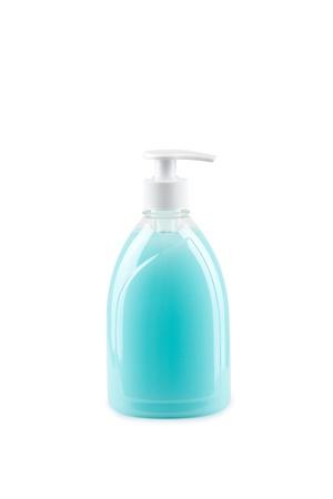 jabon liquido: Botella de jabón líquido