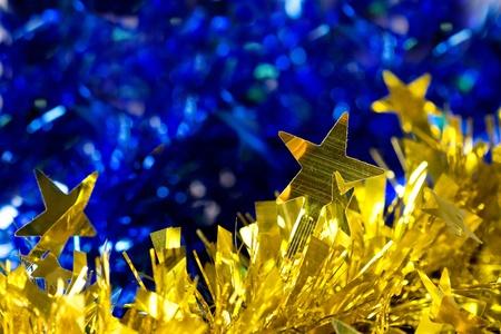 golden christmas background photo