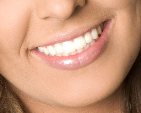 Healthy woman teeth and smile Stock Photo - 16853145