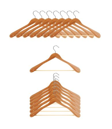 Coat hangers Stock Photo - 17908939