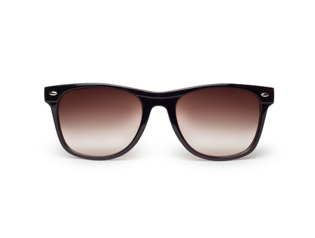wayfarer: Sunglasses isolated against a white background