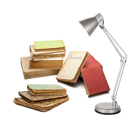 scientific literature: books with a lamp