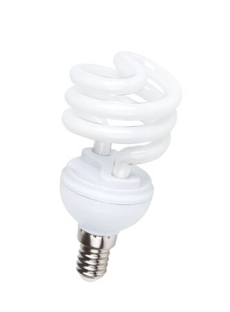 Fluorescent light bulb Stock Photo - 18921859