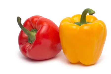 sweet pepper isolated on white background Stock Photo - 18922166