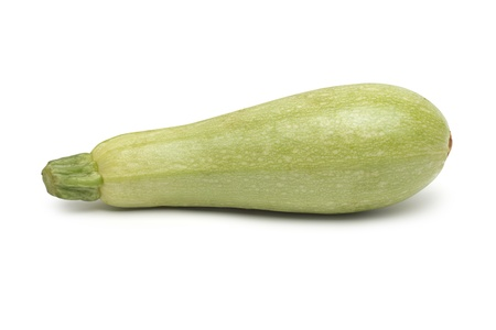 marrow: Fresh marrow vegetable. Isolated on white background