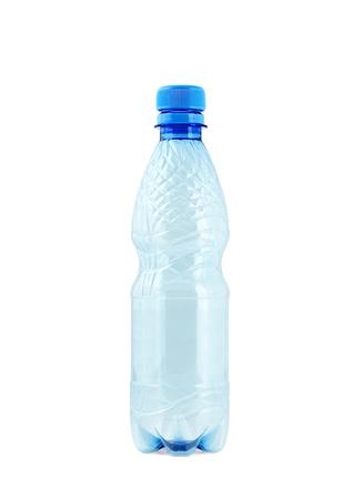 Polycarbonate plastic bottle photo