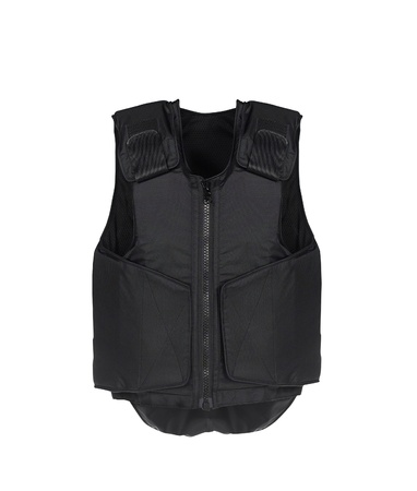 Bulletproof vest. Isolated on white. photo