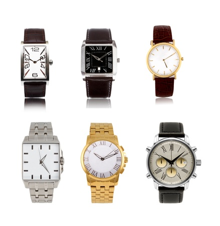 a set  different mens watches photo