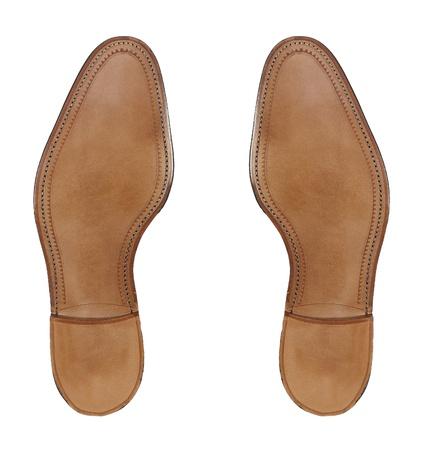 rubber sole: Rubber sole of a men Stock Photo