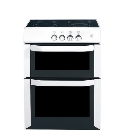 cooker over the white background photo