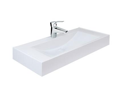 Modern washbasin photo