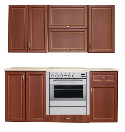 Kitchen interior isolated Stock Photo - 21970925