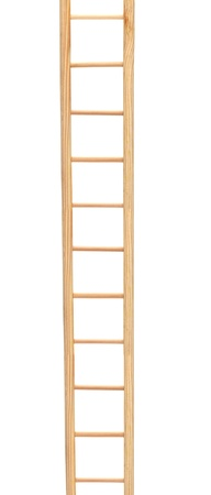 Wooden ladder photo