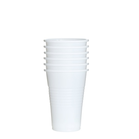 plastic cups photo