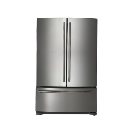 frig: Modern refrigerator Stock Photo