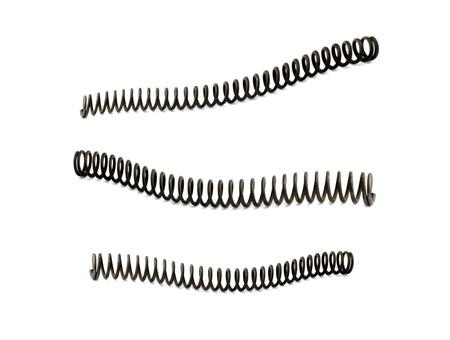 coil spring: spring Stock Photo
