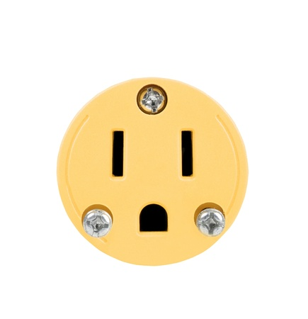 outlet isolated Stock Photo - 21992861