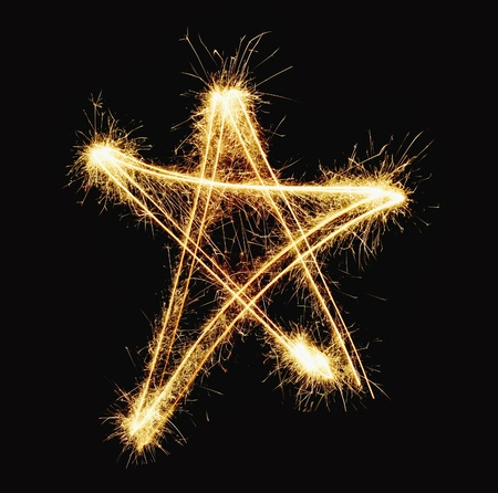 new year star Stock Photo - 21992949