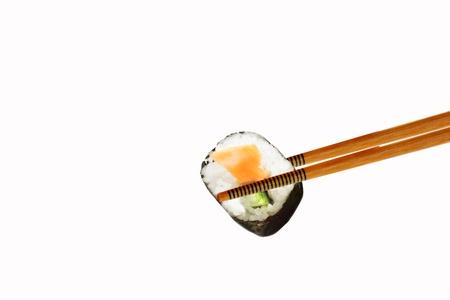 tekka: Sushi, isolated Stock Photo