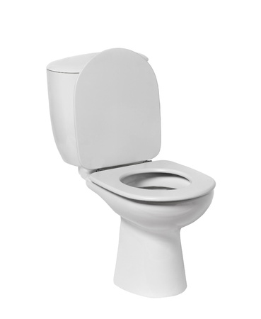 toilet bowl isolated on white Stock Photo - 21993732
