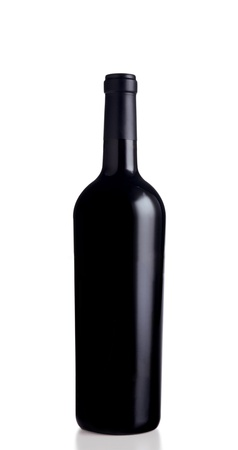 red wine bottle photo