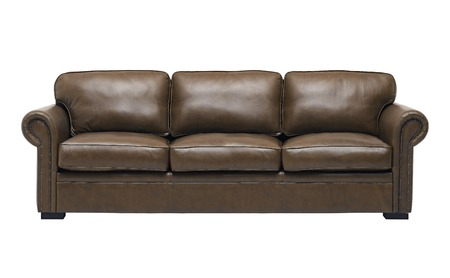 Nice and luxury leather sofa photo