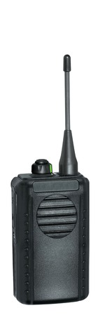 portable radio sets on a white background Stock Photo - 22182235