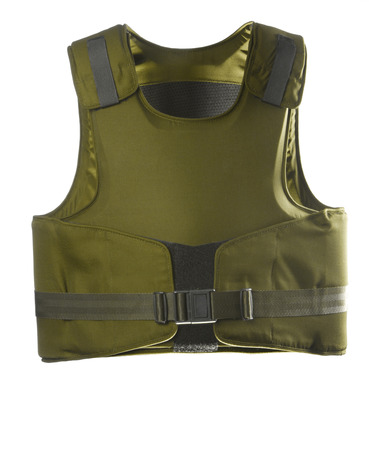 Green Bulletproof vest Фото со стока - 22182242