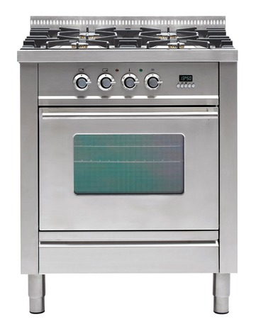 gas cooker over the white background