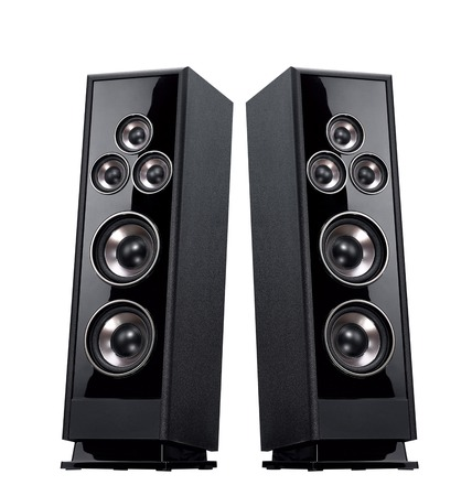 pulsating: Acoustic system isolated vertically