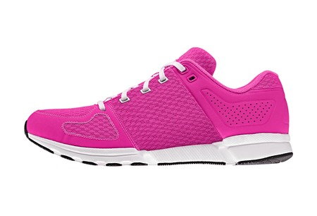pink womens sport shoes photo
