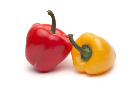 sweet pepper isolated on white background Stock Photo - 22182994