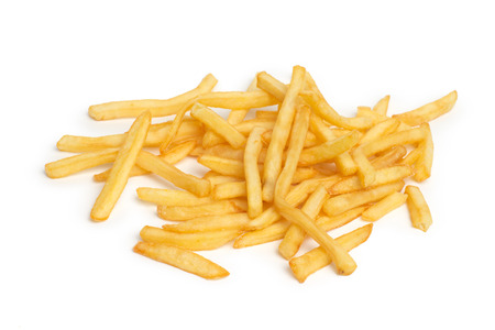 pile of appetizing french fries photo