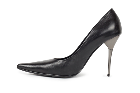 Black Womens Shoe - Isolated on White